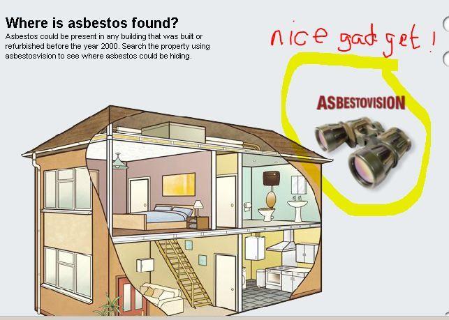 Hse Asbestovision See Where Asbestos Is Hidden In Your House Asbestos Refurbishing Floor Plans