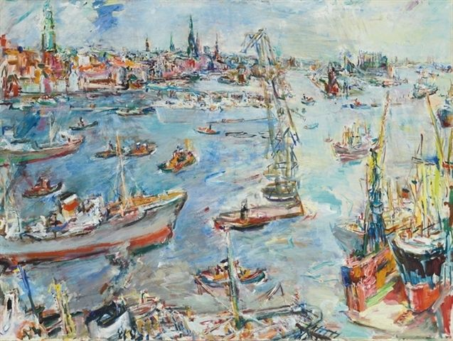 Hamburg III, Oskar Kokoschka