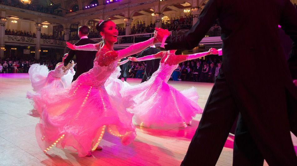 Led Ballroom Dresses Dazzle The Stage