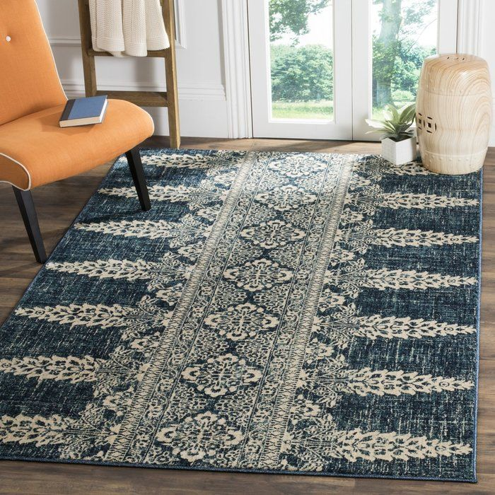 Elson Floral Royal Ivory Area Rug Area Rugs Southwestern Area