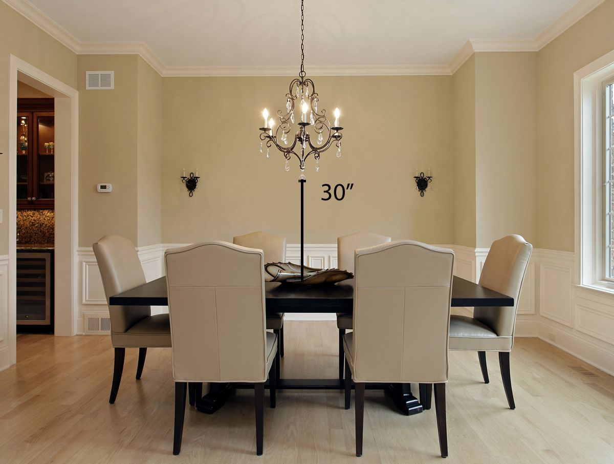 Tips For Hanging A Chandelier In Your Ding Room