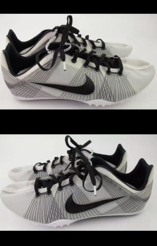 best sneakers df209 2553d Track and Field 106981  Mens Nike Zoom Victory Spikes Size 9 Rare Color  White Og