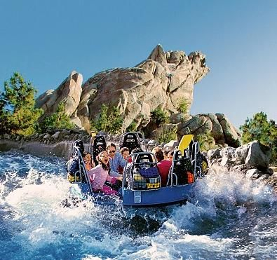 Image result for grizzly river run disneyland