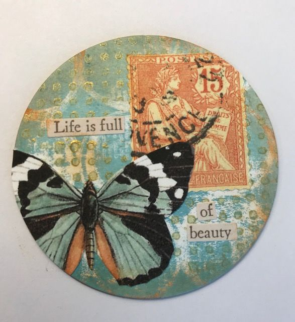 Great AT Coin | Artist Trading Cards, ATC'S, coins and