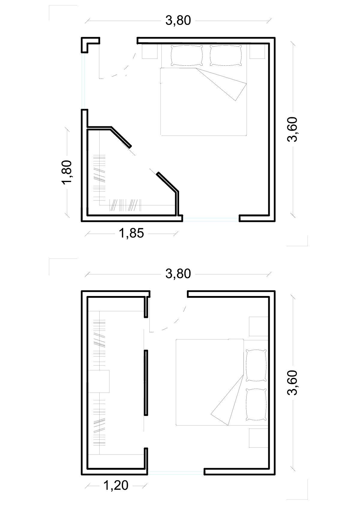 Cabina Armadio Ad Angolo Misure.La Cabina Armadio Dimensioni Minime Ed Esempi Con Immagini