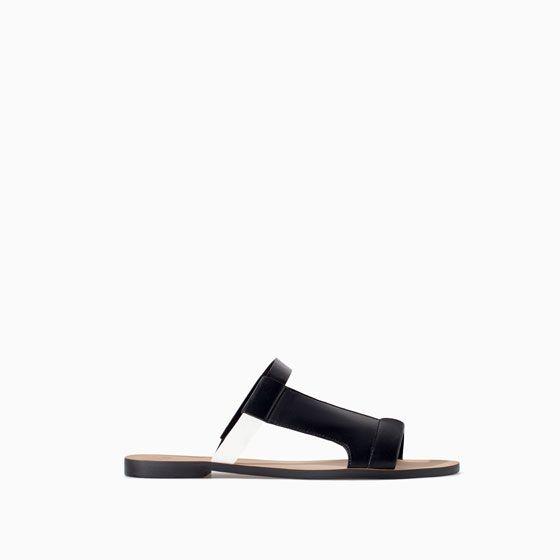 Flat Zara With Sandal Sandals From 35Shoes Asymmetric Straps OTPikuXZ