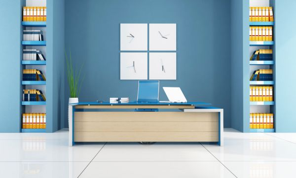 best colors for office walls. If Your Office Includes A Lobby Or Reception Area For Visitors, You Can Use The Best Colors Walls