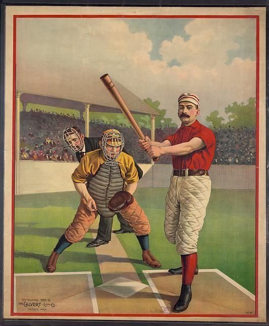 24x36 1889 Spalding/'s Baseball Guide Cover Classic Sports Poster