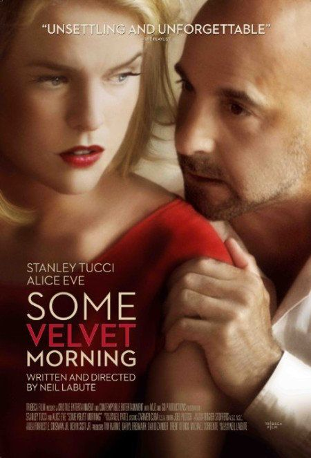 Some Velvet Morning Language : English  Genre : Drama  Duration : 1h 24mn  Size : 562 MB  Quality : DVDRiP  Release Year : 2013  Submit by : Napster  Description : Stanley Tucci stars as a man who surprises his former mistress (Alice Eve), claiming to have left his wife. Before too long, a dark history between the two has come into focus.