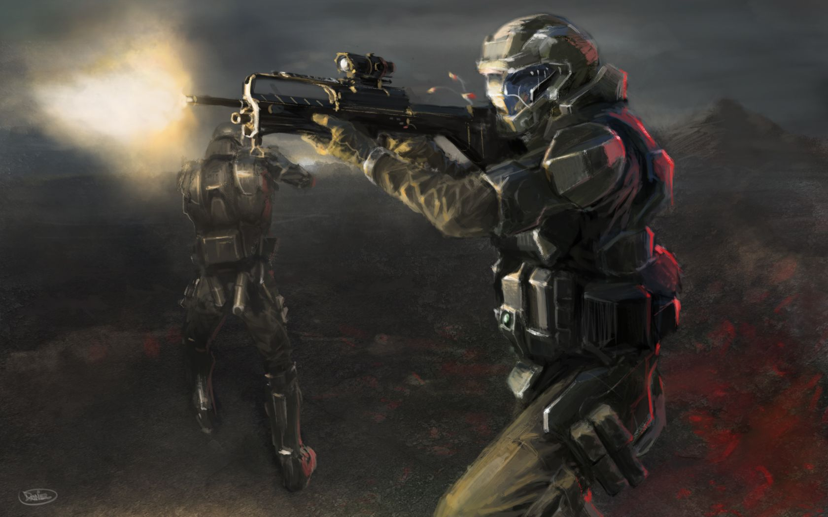 Halo 3: ODST Wallpaper by Minime637 on DeviantArt