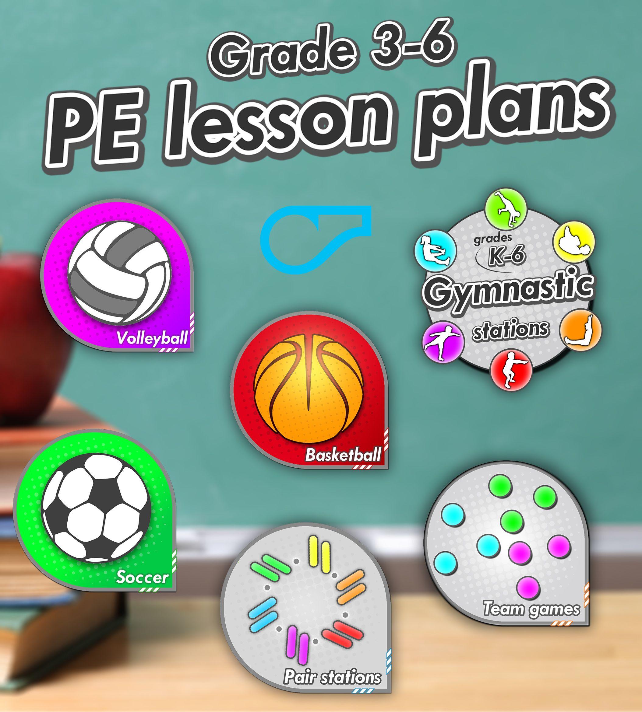 Pe Lesson Plans For Grades 3 6