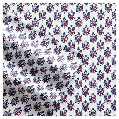Poppy & Fritz Turtles Sheet Set - Blue (Queen)