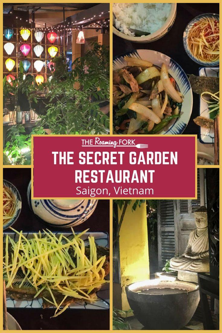 The Secret Garden Restaurant Saigon The Roaming Fork Secret Garden Garden Cafe Restaurant