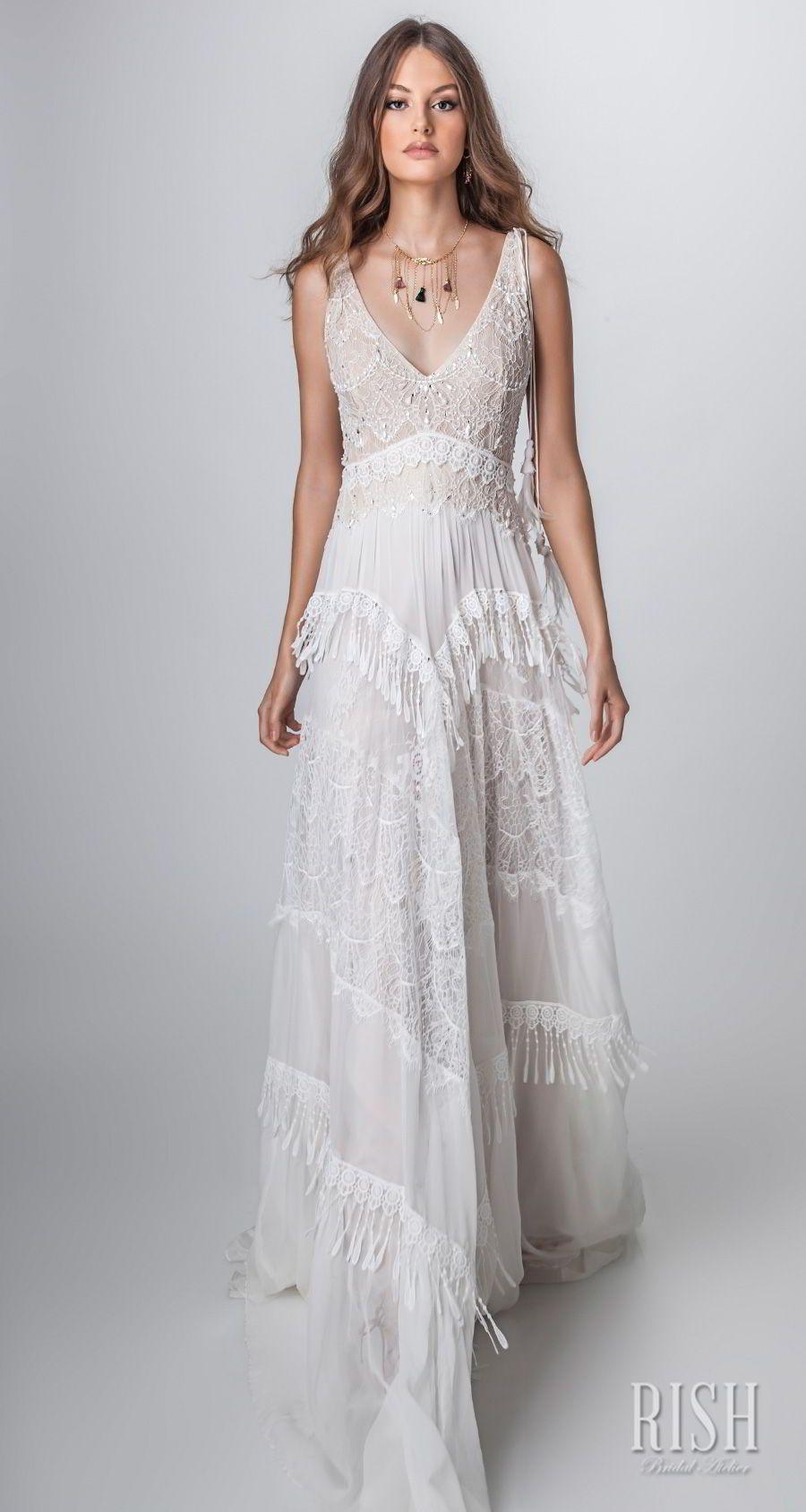 Rish Bridal ucSun Danceud Collection u Boho Chic Wedding Dresses