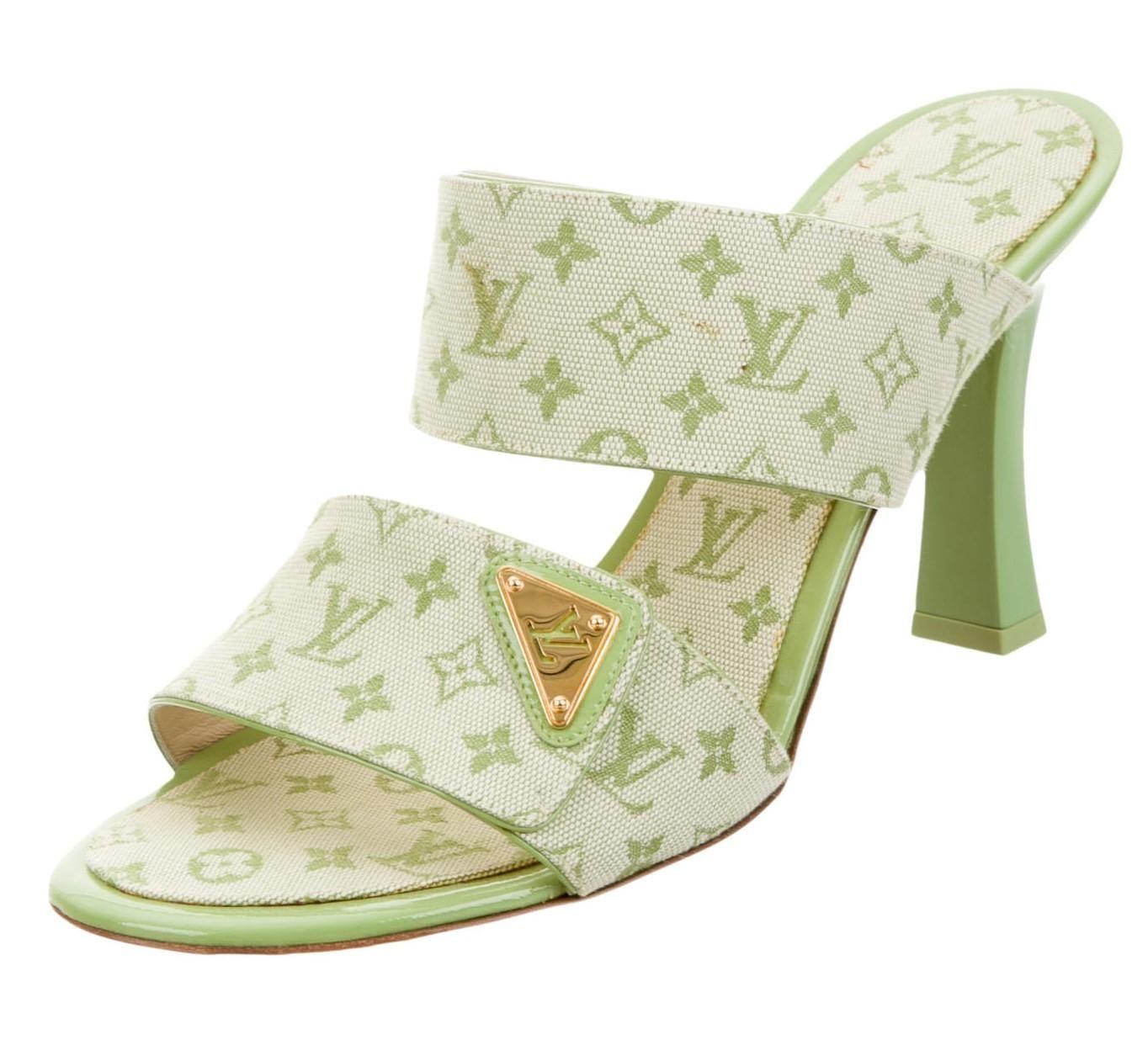 Monogram sandals, Lv monogram