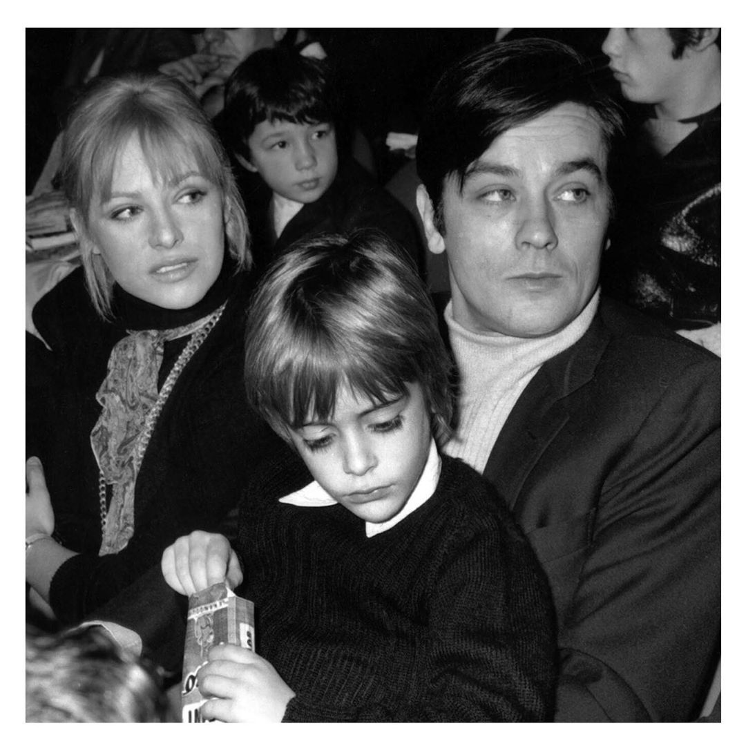 Pin On Alain Delon