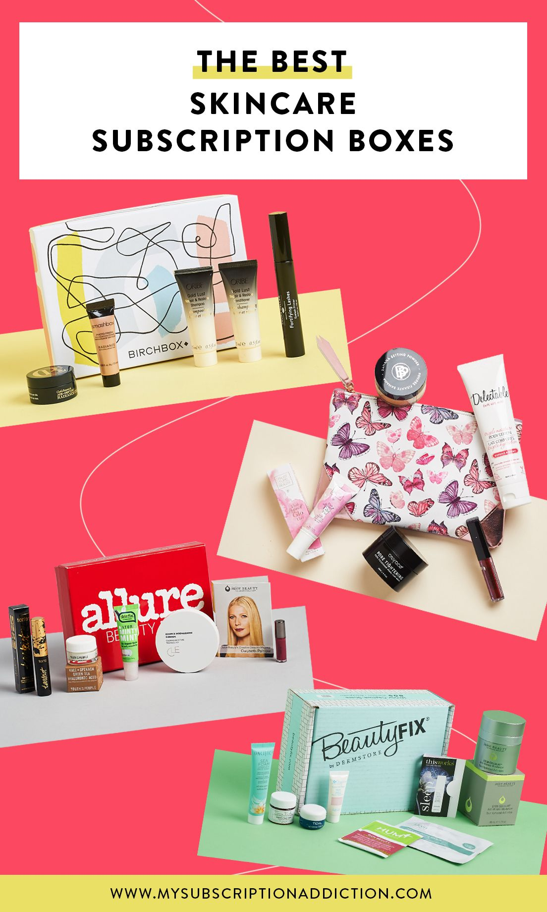 The Best Skincare Subscription Boxes Of 2018 Voted By You