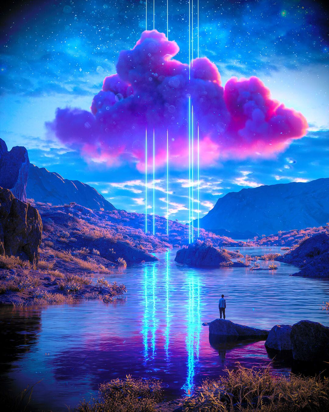 Pink Cloud 3 byJosh Pierce