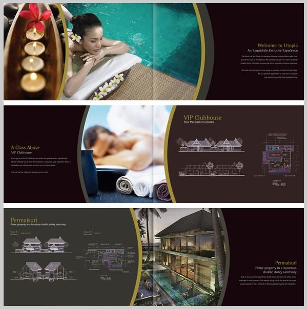 Spa brochure design astana inai inspiration for Hotel brochure design inspiration