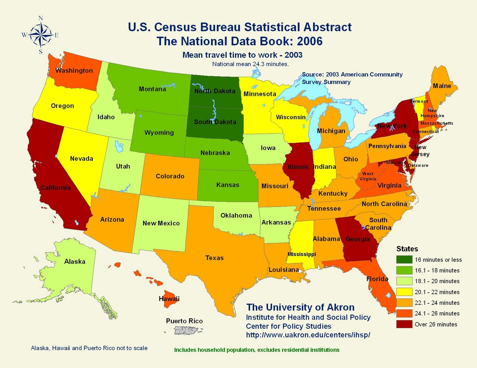 Time In Usa Map.Usa Mean Travel Time To Work Maps Pinterest Travel Map And