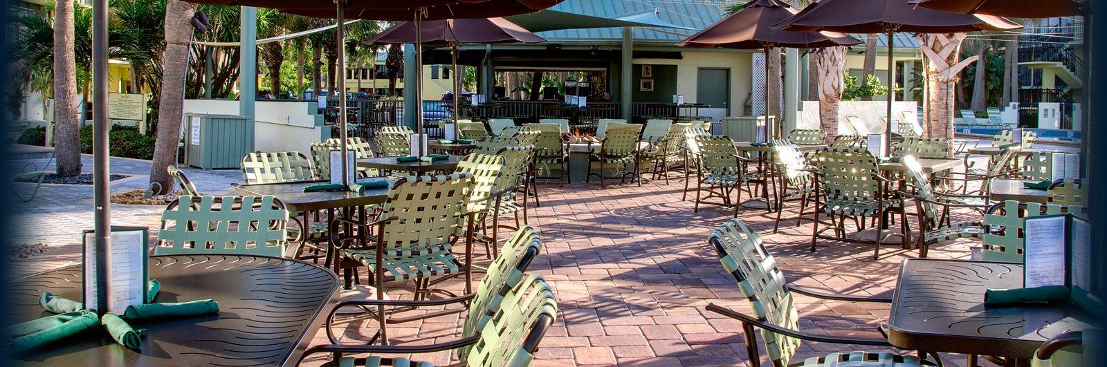 St Pete Beach Restaurants And Bars Harrys Beach Bar At Sirata