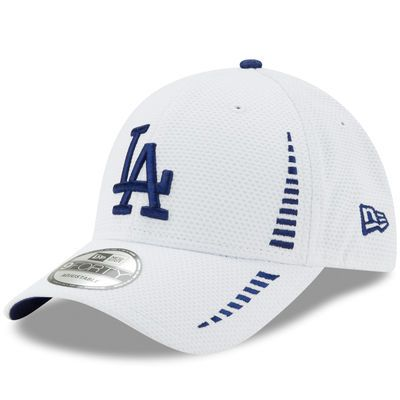 new styles aa08d 8028e Men s New Era White Los Angeles Dodgers Speed 9FORTY Adjustable Hat