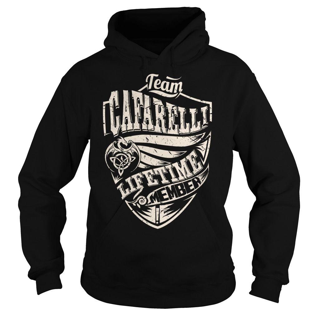 Team CAFARELLI Lifetime Member (Dragon) - Last Name, Surname T-Shirt