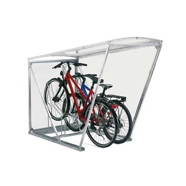 Häufig Das MiniRoof ist die perfekte Fahrradüberdachung für 2 Velos. Es OX51