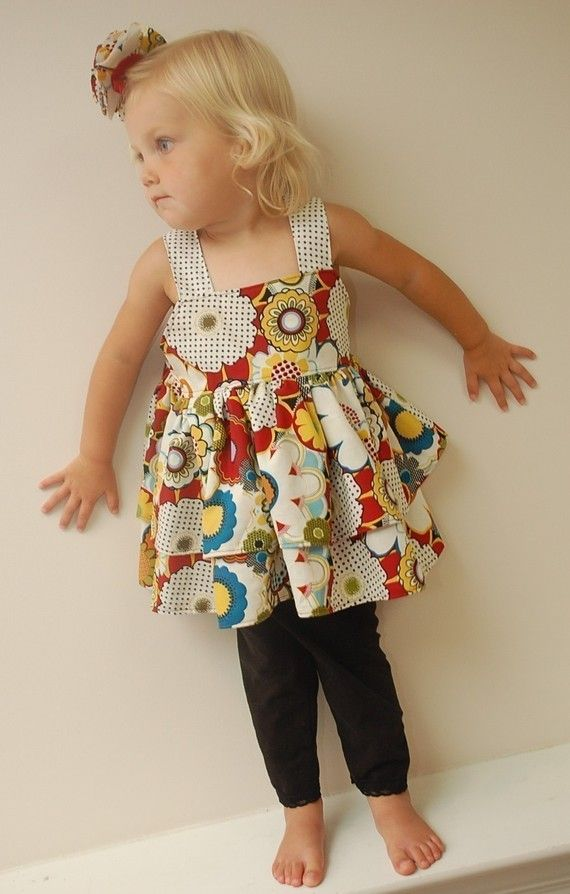 ruffle top #pattern #etsy $7 | Sewing for Kids | Pinterest | Sewing ...