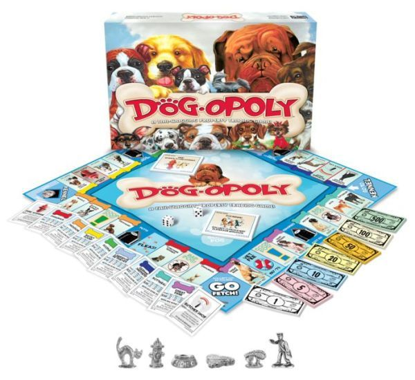 Dogopoly Dog games, Dog gifts, Games