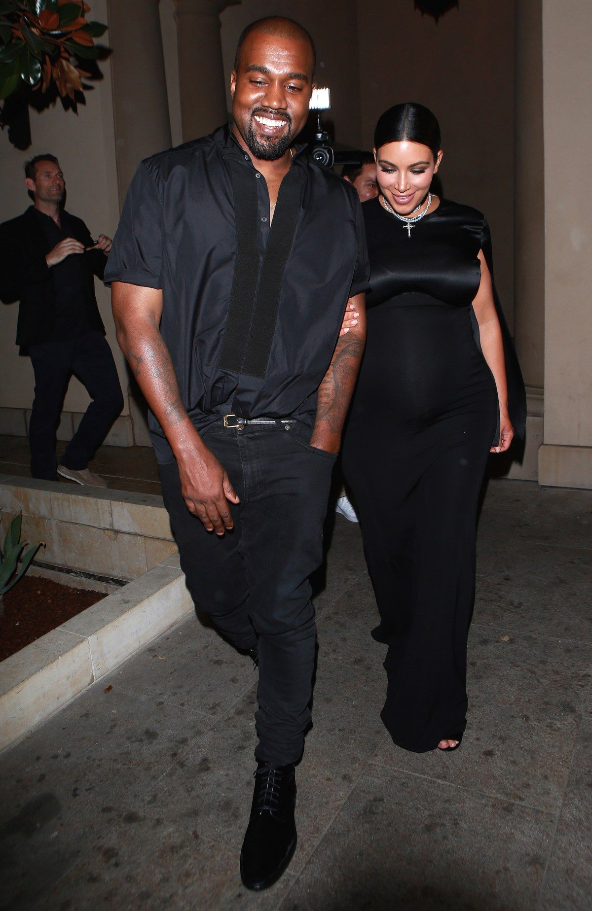 172b2e689a Leaving the CFDA Vogue Fashion Fund Dinner at Bouchon Beverly Hills with Kim  Kardashian West