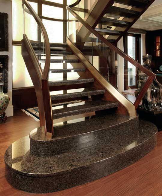 treppen aus granit sind berall dort angebracht wo widerstandsf hige oberfl chen erforderlich. Black Bedroom Furniture Sets. Home Design Ideas