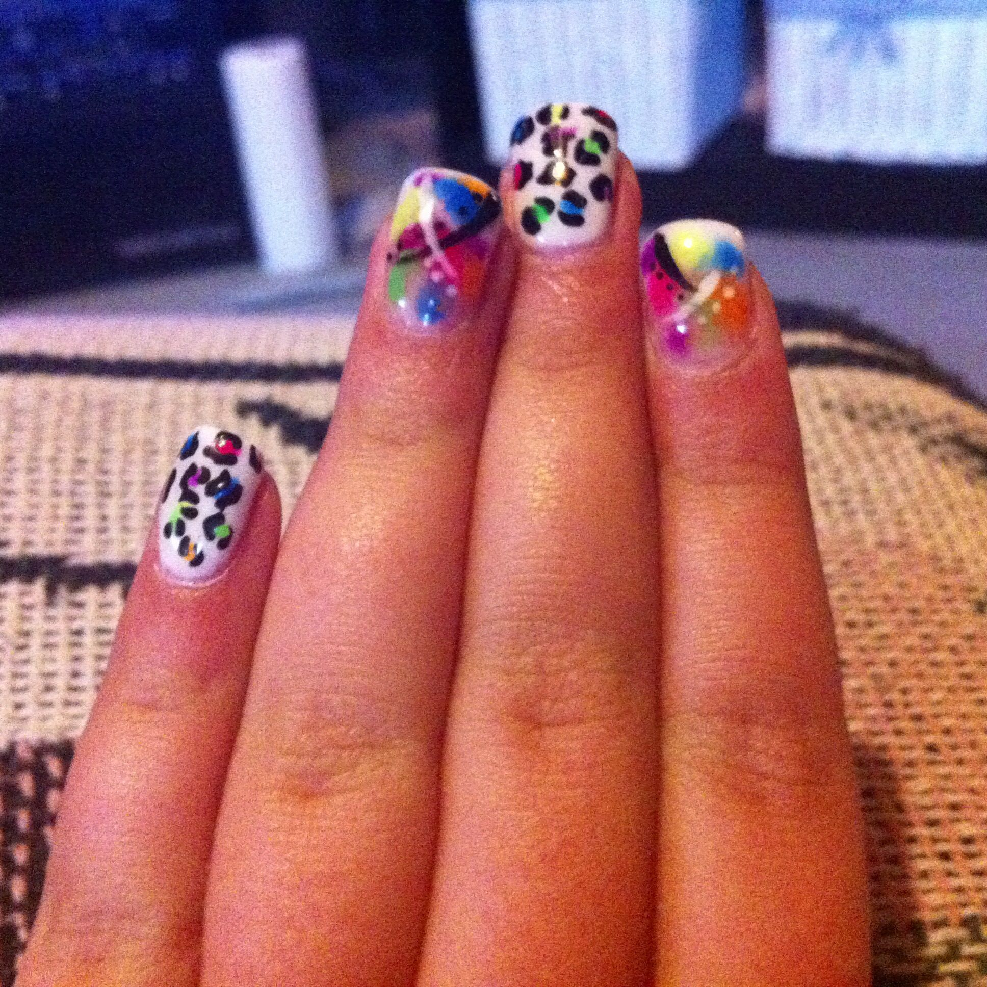 Got my nails done by shayna at evolve studio look at their page on Facebook amazing work:)