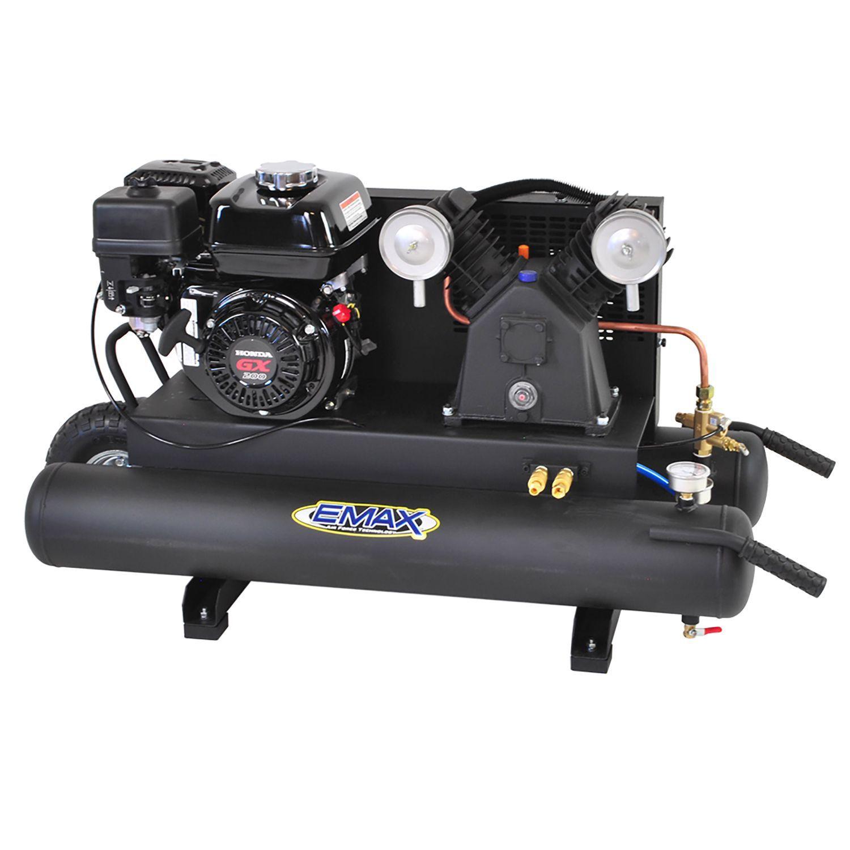 EMAX 10gallon 6.5 HP 2Cycle Portable Gas Wheelbarrow Air