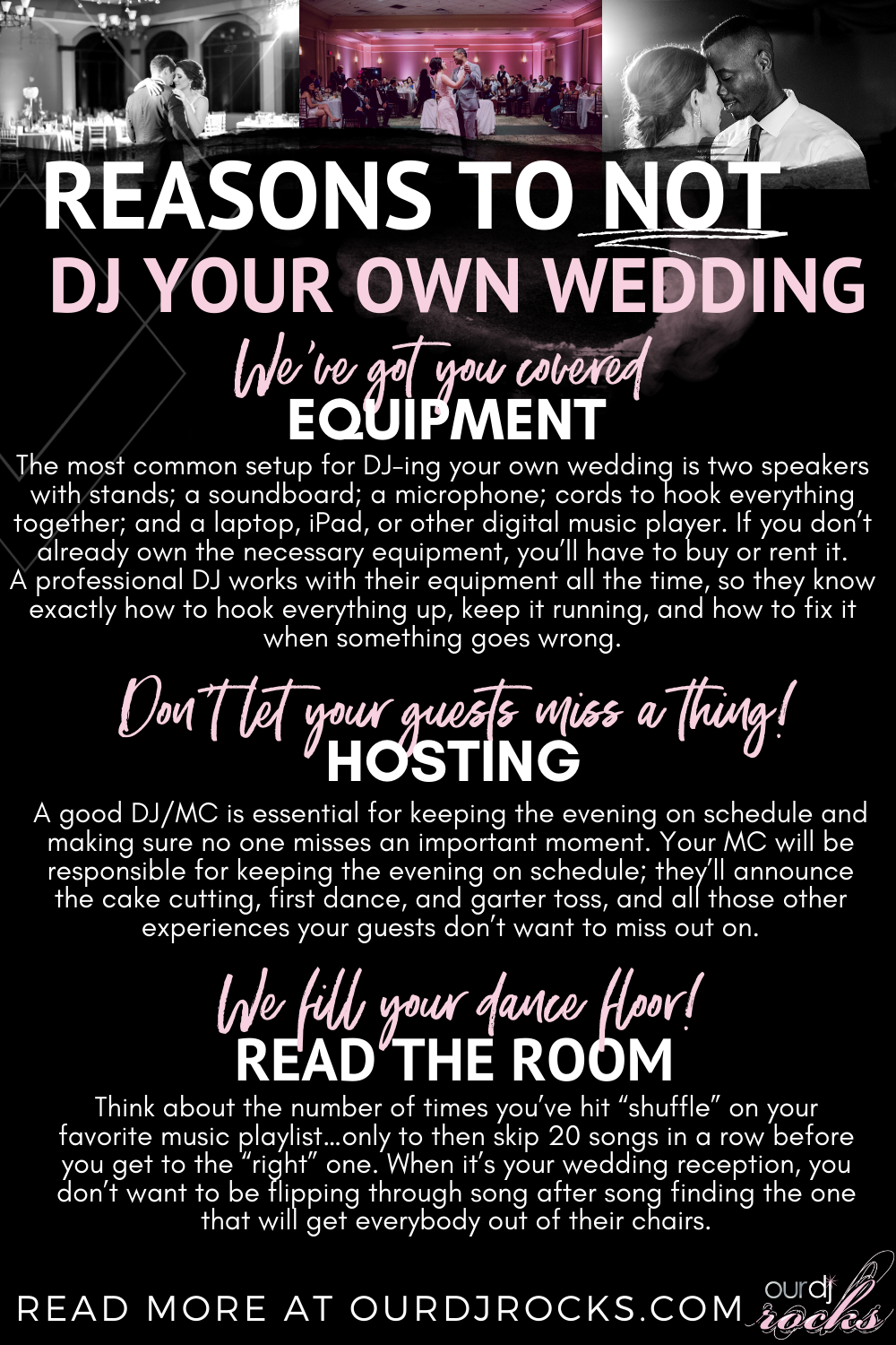 Reasons To Not Dj Your Own Wedding In 2020 Dj Father Daughter Wedding Songs Wedding Dj App