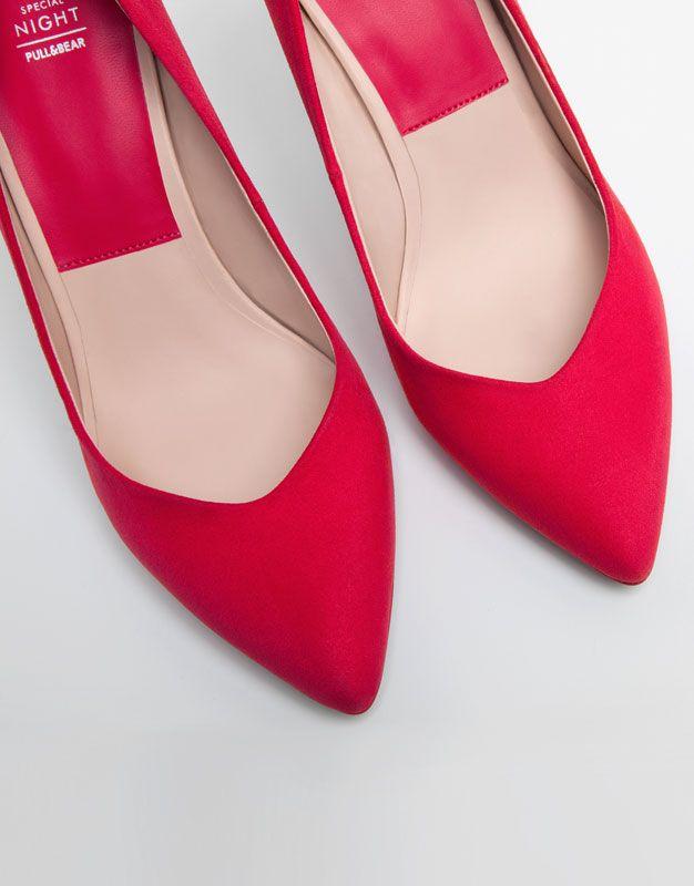 Sal n b sico zapatos mujer mujer pull bear m xico - Baldas para zapatos ...