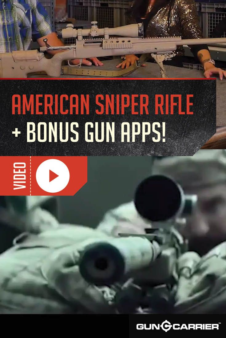 The American Sniper Rifles: The Rifles Used by American Sniper Chris
