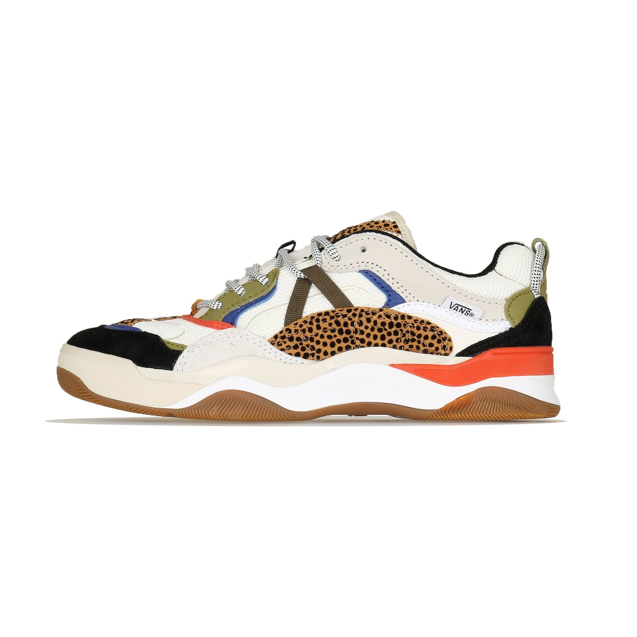 Vans Womens Varix WC (Tiny Cheetah) Spicy Orange