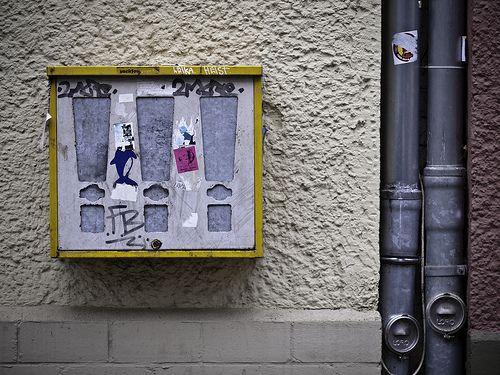 Kaugummiautomat Kochhannstraße