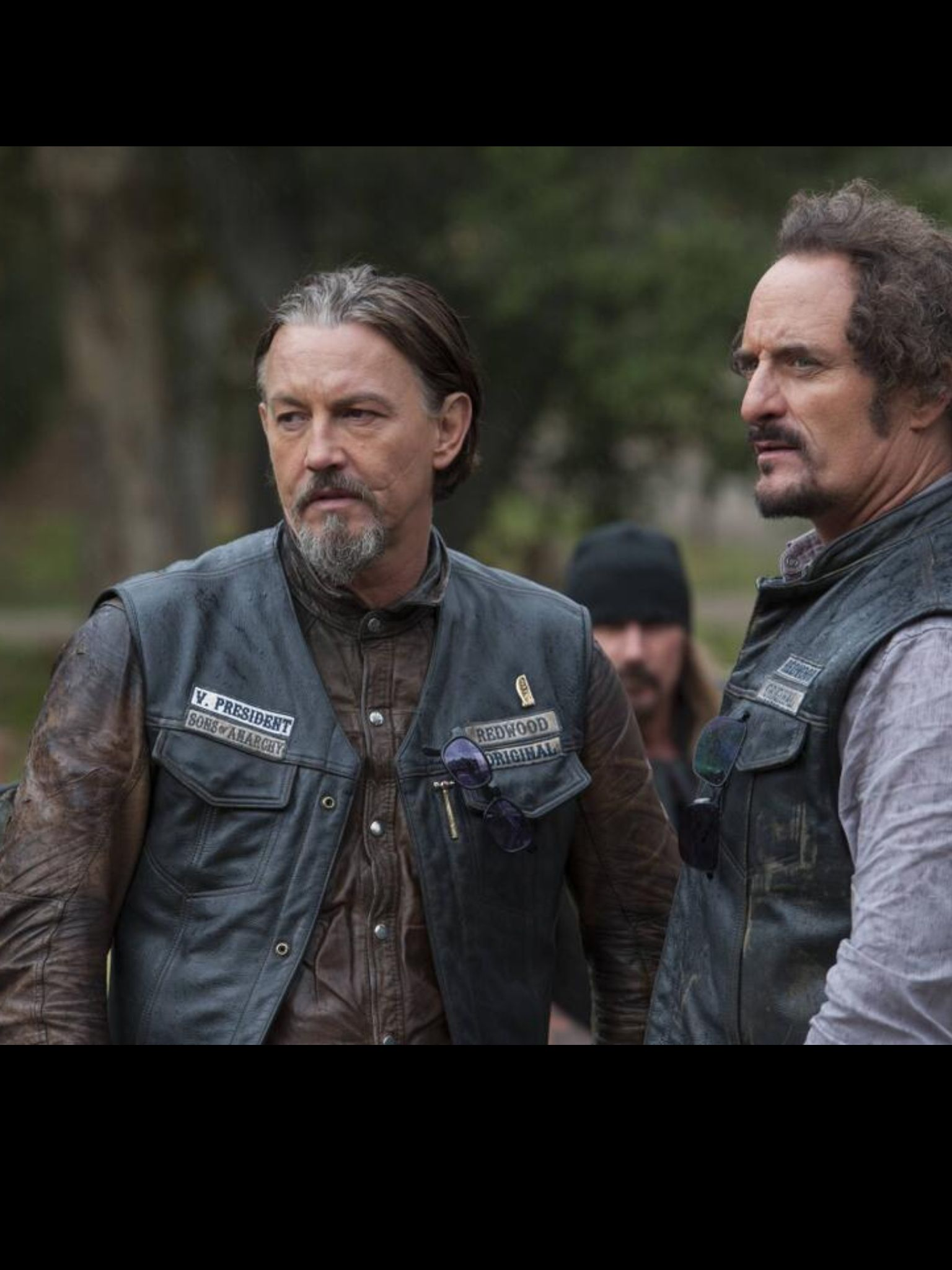 Glad They Both Made It To Season 7 Sons Of Anarchy Kim Coates Tommy Flanagan