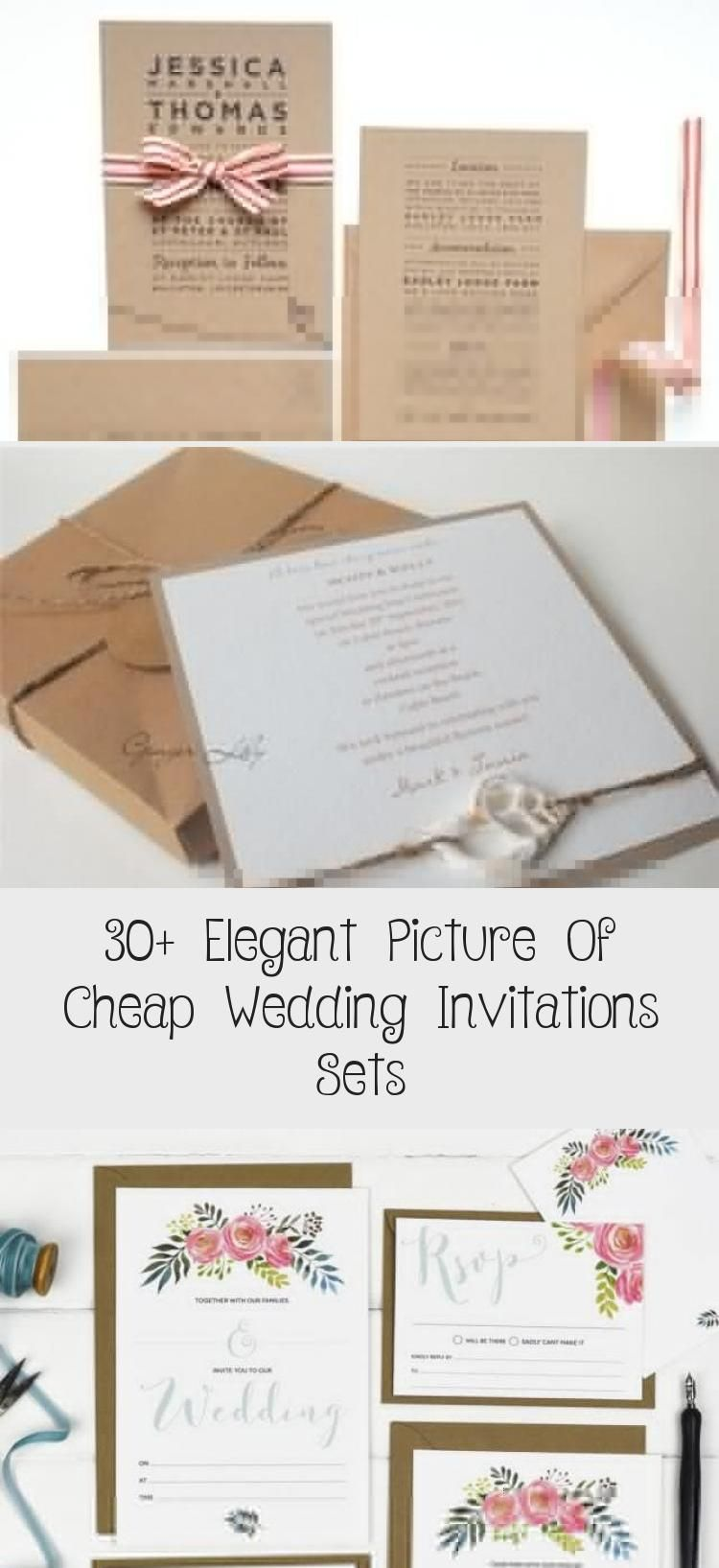 30 Elegant Picture Of Cheap Wedding Invitations Sets Cheap Wedding Invitations Inexpensive Wedding Invitations Wedding Invitation Sets