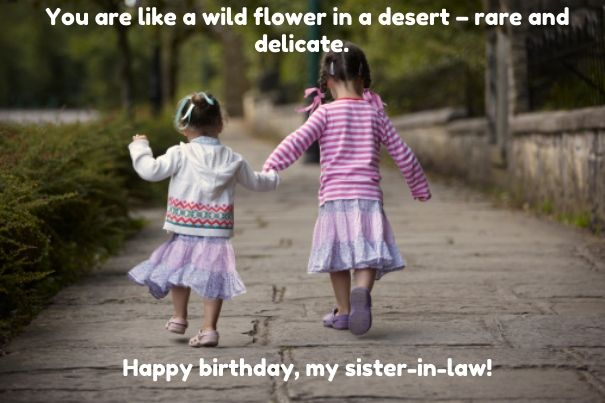 Birthday Quotes For Sister In Law With Images Birthday Wishes For Sister Sister Birthday Quotes Sister In Law Birthday