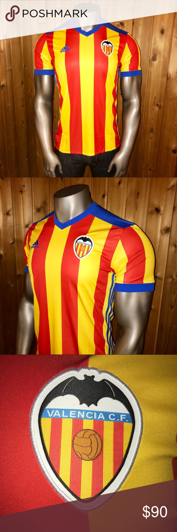 0925d6969 NWT! Adidas Valencia C.F. Men's Soccer Jersey Brand New With Tags! Size:  U.S.