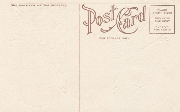 Gallery For > Blank Postcard Back | Design | Pinterest | Postcard