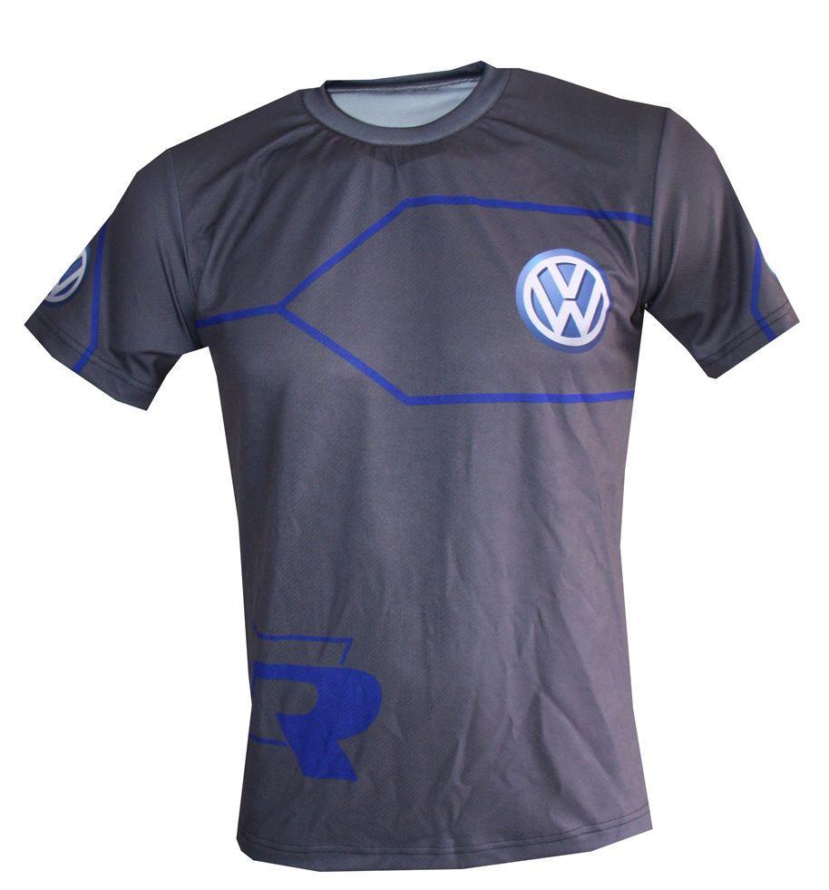 Volkswagen R Motorsport All Over Sublimation Print T Shirt Vw R
