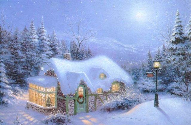 Christmas Screensavers For Windows 7 Free X Mas Screensaver Version 1 0 By 3d Screensaver Christmas Scenes Thomas Kinkade Christmas Christmas Art
