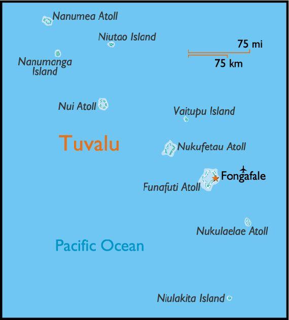 Tuvalu Wikipedia Free Encyclopedia Tuvalu Formerly Known As - Tuvalu map