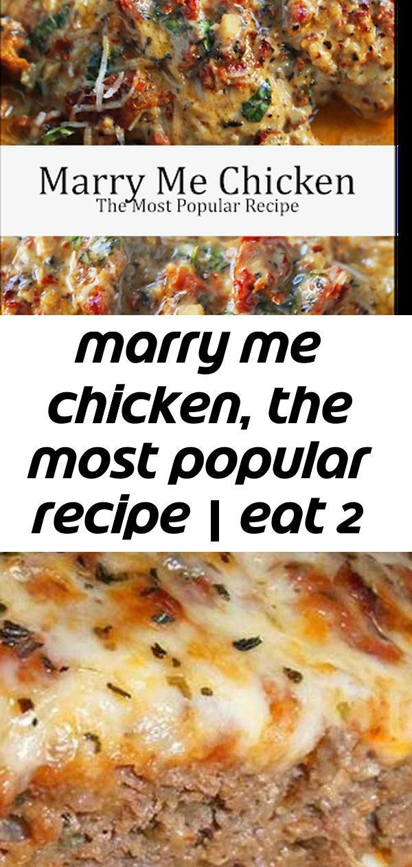 Marry me chicken, the most popular recipe | eat 2 #marrymechicken Marry Me Chicken, The most popular recipe | EAT Italian Meatloaf Recipe Best-Ever Sticky Asian Ribs! This recipe has been in my family for over 30 years and is an all-time favorite! The BEST Meatloaf Recipe is something I've worked years at perfecting... and here it is! A tender juicy beef meatloaf topped with a zesty topping and baked until tender and juicy! #marrymechicken Marry me chicken, the most popular recipe | eat 2 #marry #marrymechicken