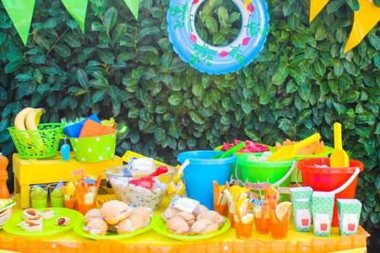 Summer Beach Party Ideas Birthday Party Pool Party Ideas for