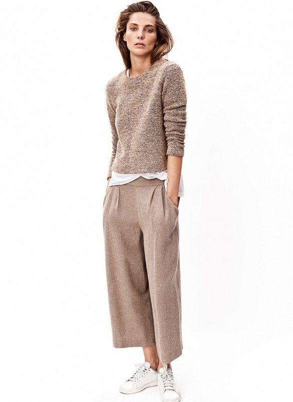Daria werbowy stars in mango 39 s winter 2014 lookbook for Stile minimal chic